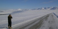 Dempster Hwy near Richardson Mts