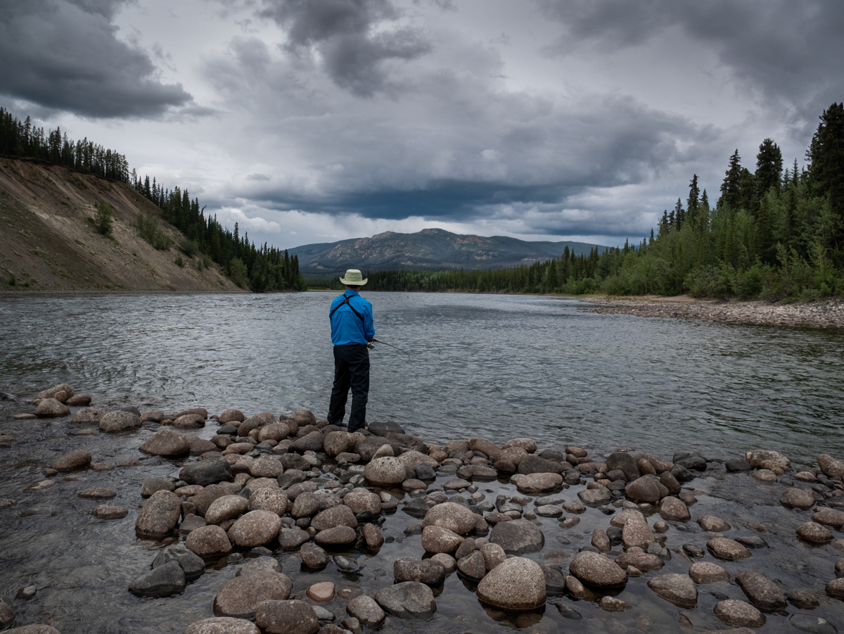 Canoeing the Teslin River